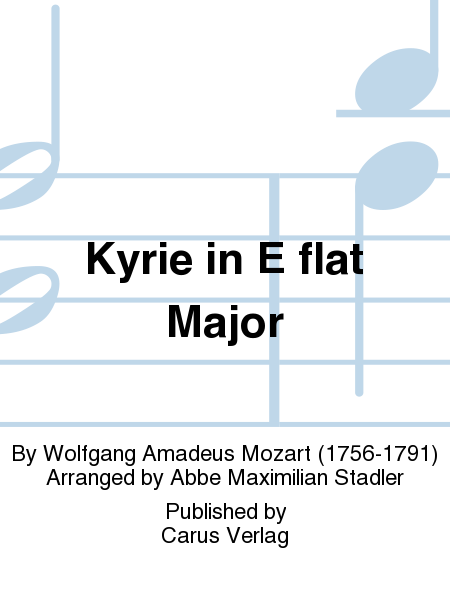 Kyrie in E flat Major