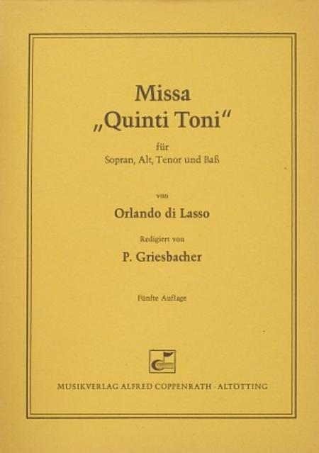 Missa Quinti Toni