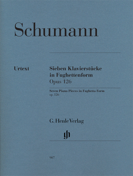 Seven Piano Pieces In Fughetta Form Op. 126