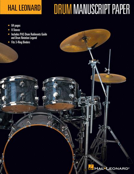 Hal Leonard Drum Manuscript Paper