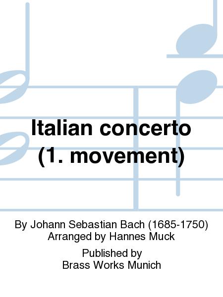 Italian concerto (1. movement)