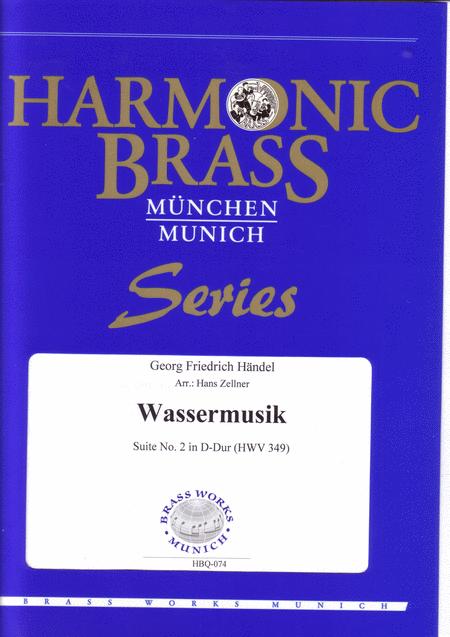 Water Music (Suite No. 2 in D-Major; HWV 349