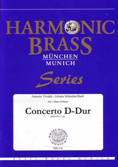 Concerto D-Major BWV 972