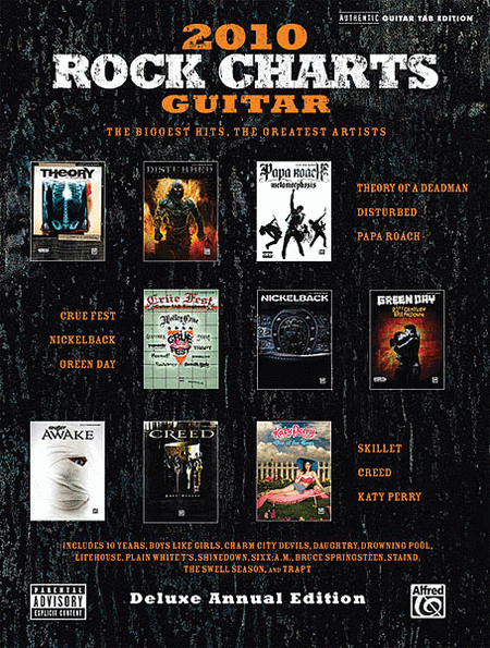 Rock Charts Guitar 2010 - Deluxe Annual Edition