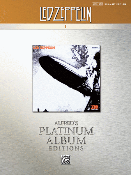 Led Zeppelin -- I Platinum Drums