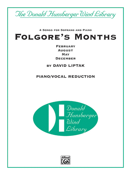 Folgore's Months (piano reduction)