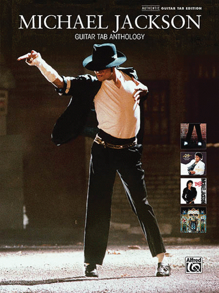 Pretty Book Cover Guitar : Michael jackson guitar tab anthology sheet music by