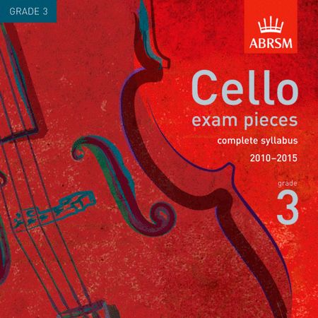 Cello Exam Pieces from 2010 - Grade 3 (CD)