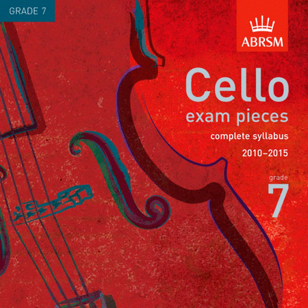 Cello Exam Pieces from 2010 - Grade 7 (CD)