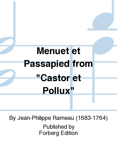 Menuet et Passapied from