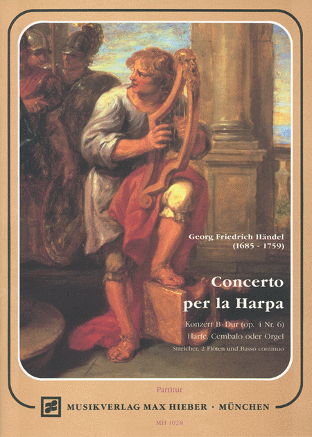 Concerto for Harp in Bb Major Op.4 No.6