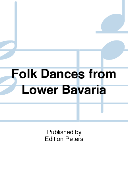 Folk Dances from Lower Bavaria