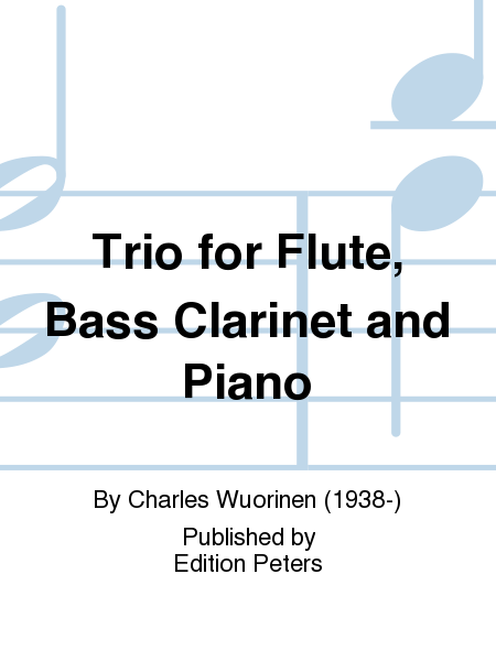 Trio for Flute, Bass Clarinet and Piano