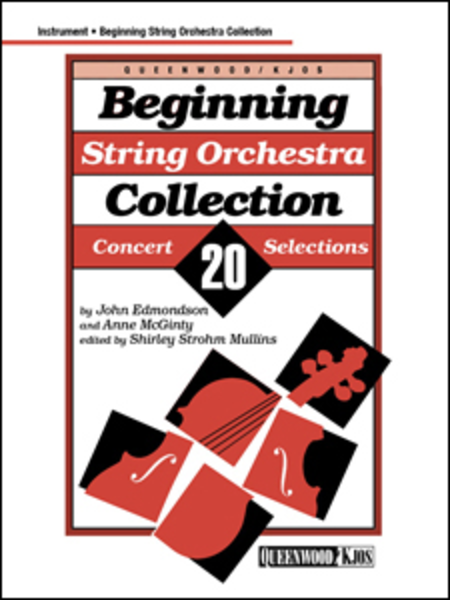 Beginning String Orchestra Collection - String Bass