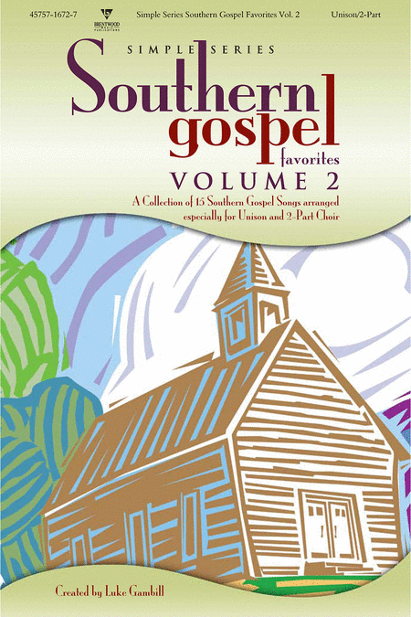 Simple Series Southern Gospel Favorites, Volume 2 (Choral Book)