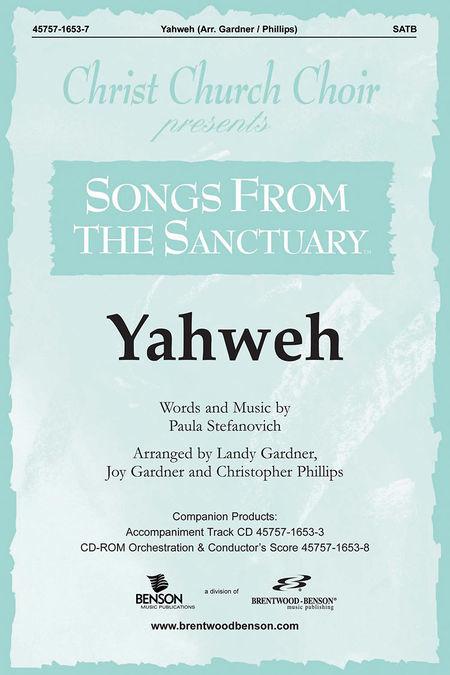 Yahweh (Split Track Accompaniment CD)