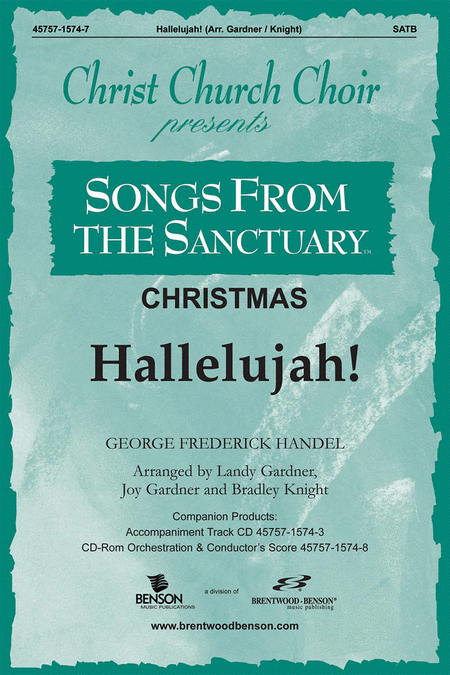 Hallelujah Chorus (Split Track Accompaniment CD)