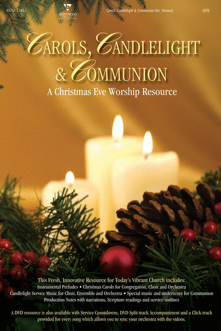 Carols, Candlelight and Communion (CD Preview Pack)