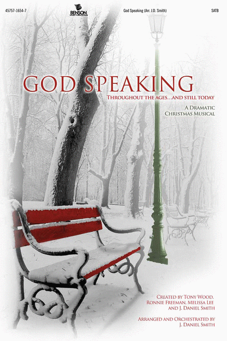 God Speaking (Orchestra Parts and Conductor's Score, CD-ROM)