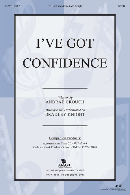 I've Got Confidence (Orchestra Parts and Conductor's Score, CD-ROM)