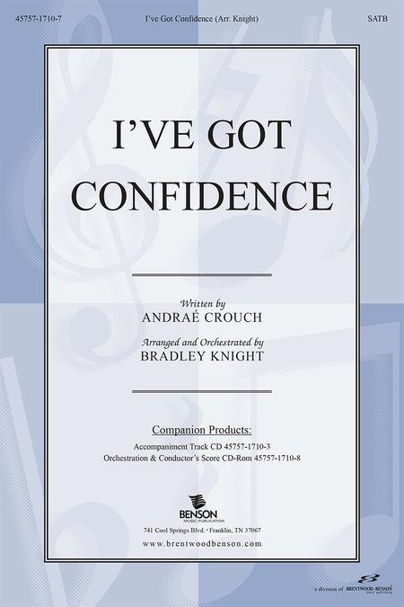 I've Got Confidence (Split Track Accompaniment CD)