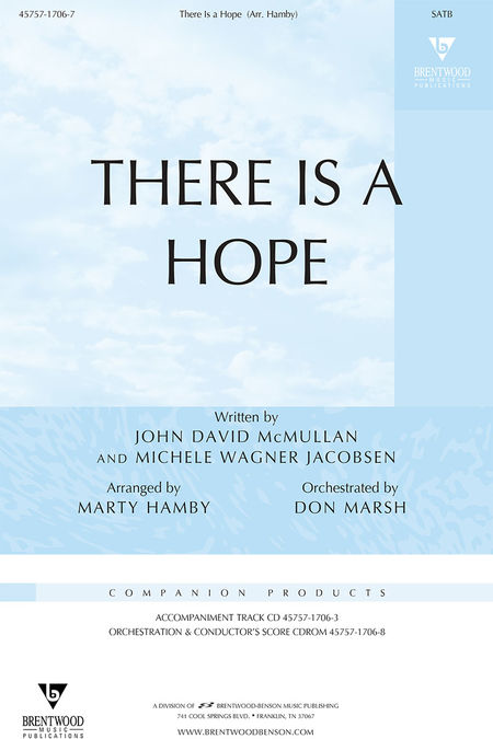 There Is A Hope (Orchestra Parts and Conductor's Score, CD-ROM)