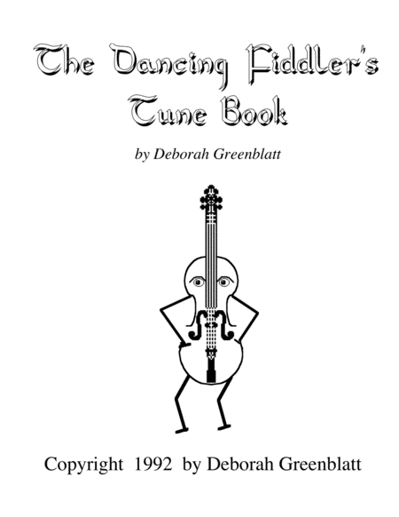 The Dancing Fiddler's Tune Books - 1st Fiddle Part