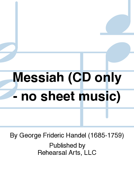 Messiah (CD only - no sheet music)