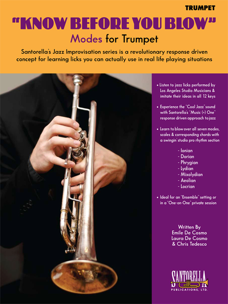 Know Before You Blow - Jazz Modes for Trumpet with CD
