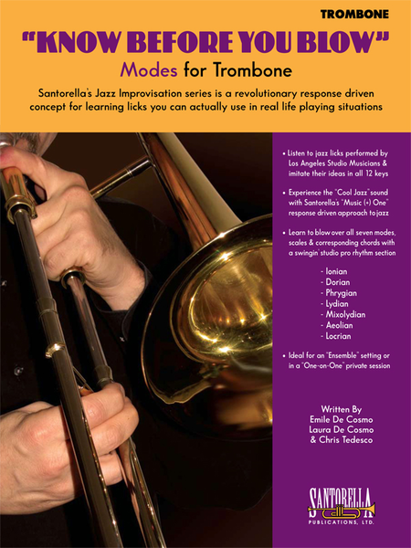 Know Before You Blow - Jazz Modes for Trombone with CD