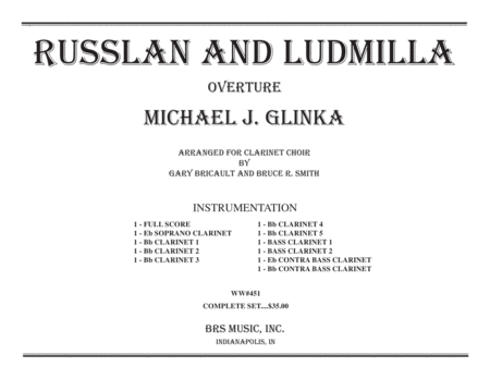 Russlan and Ludmilla Overture