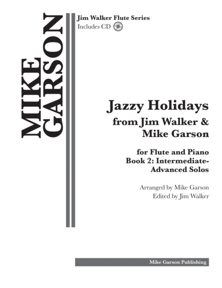 Jazzy Holidays from Jim Walker & Mike Garson