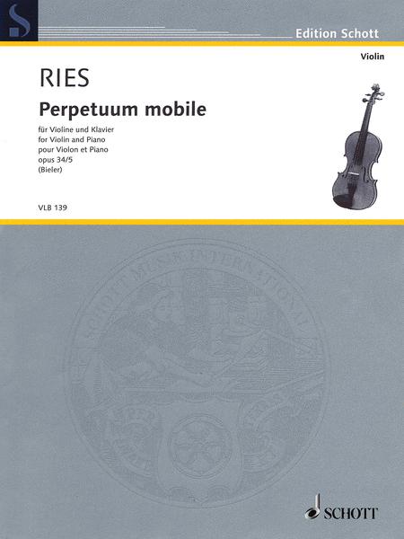 Perpetuum mobile, Op. 34