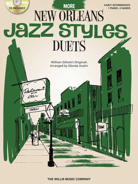 More New Orleans Jazz Styles Duets - Book/CD
