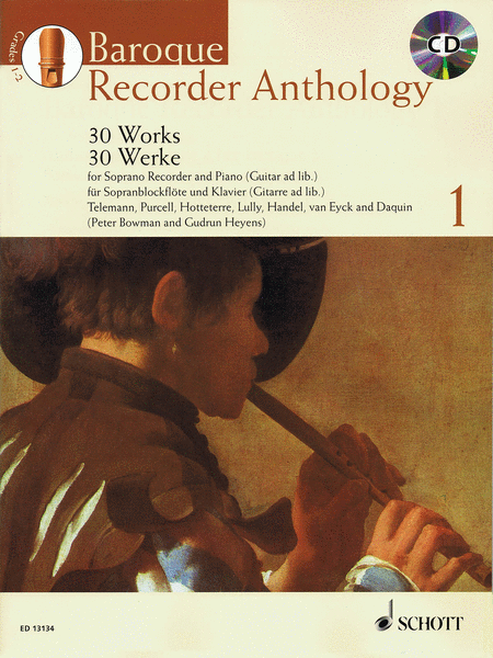 Baroque Recorder Anthology - Vol. 1