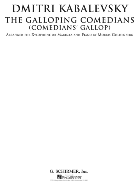 The Galloping Comedians (Comedian's Gallop)