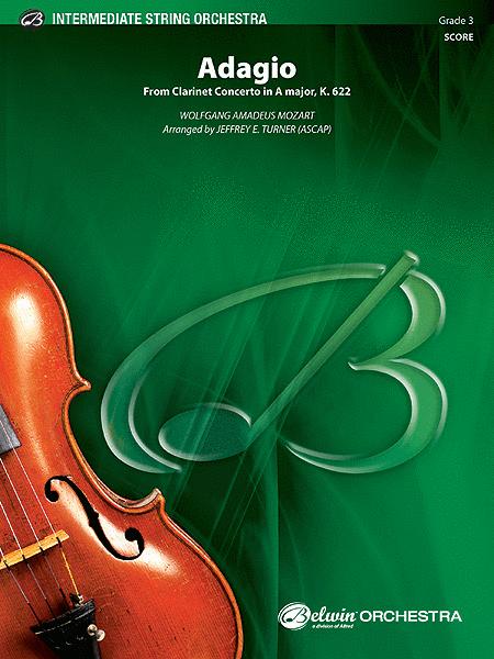 Adagio (from Clarinet Concerto in A Major, K. 622)