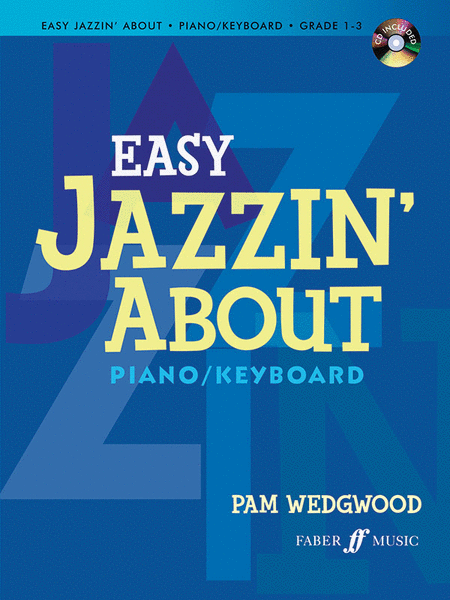 Easy Jazzin' About for Piano / Keyboard