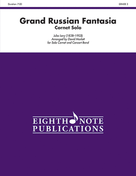 Grand Russian Fantasia (Solo Cornet and Concert Band)
