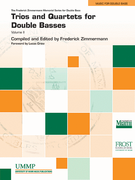 Trios and Quartets for Double Basses, Volume 2