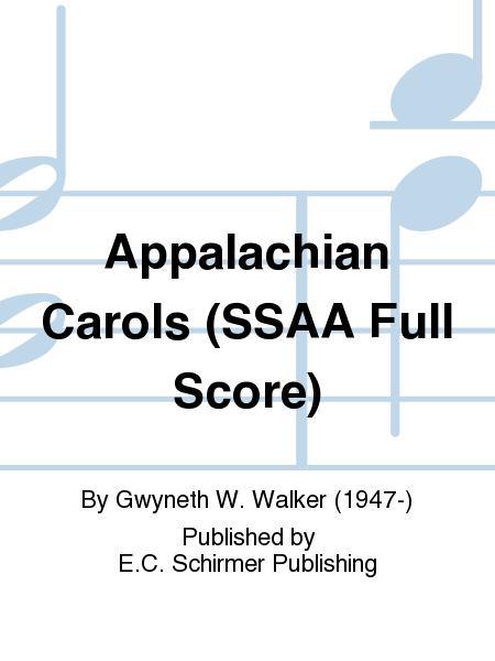 Appalachian Carols (SSAA Full Score)