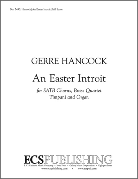 An Easter Introit (Full Score)