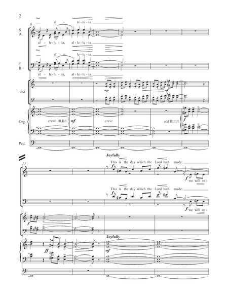 An Easter Introit (Choral Score)