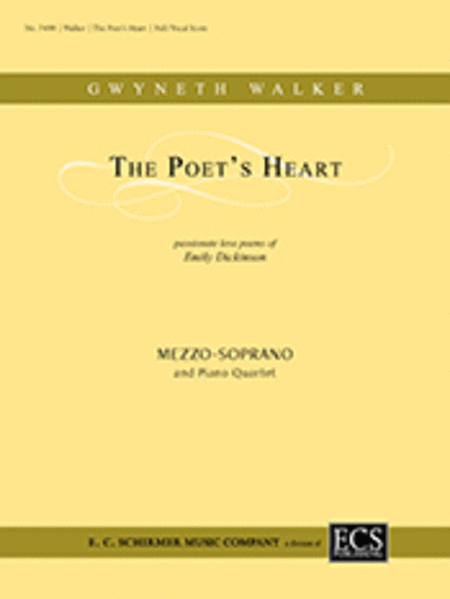 The Poet's Heart (Full/Vocal Score)