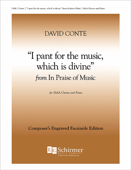 In Praise of Music: I pant for the music, which is divine