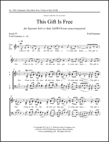 This Gift is Free