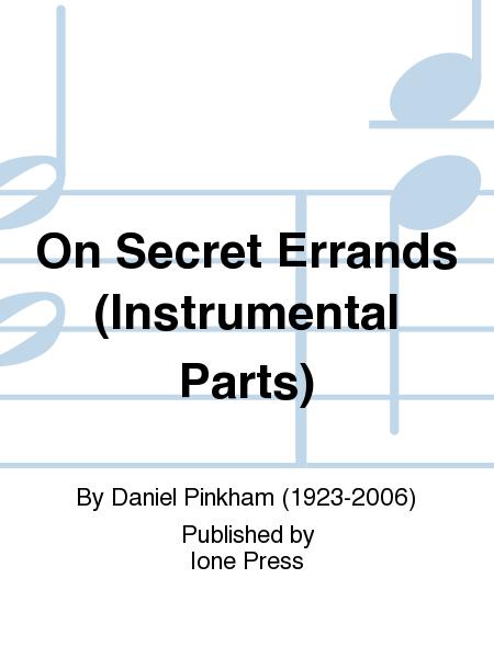 On Secret Errands (Instrumental Parts)