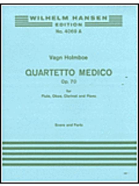 Holmboe  Quartetto Medico Op. 70  Flt/ob/clt/pf  Score & Pts