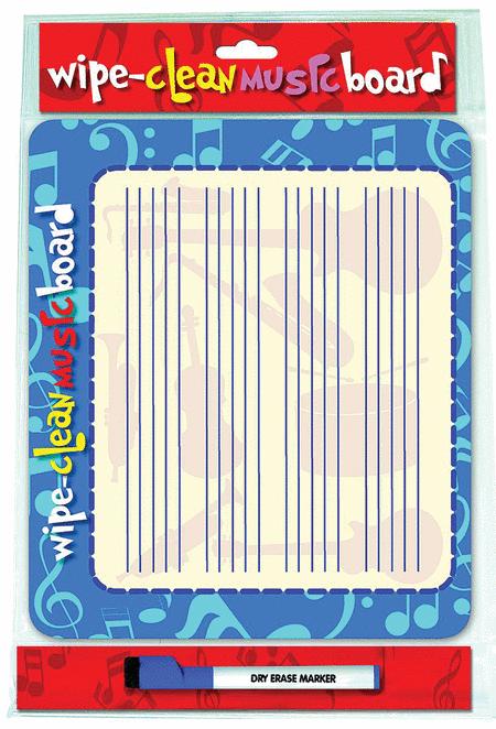 Wipe Clean Music Board