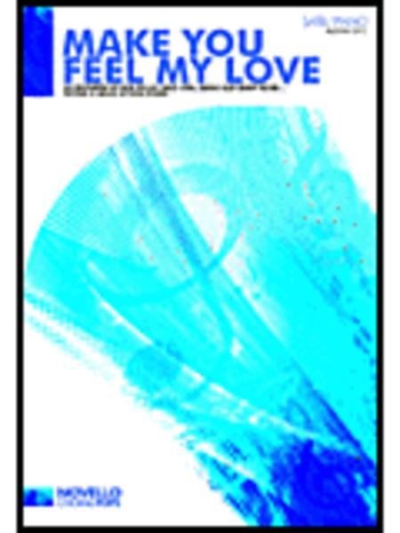 make you feel my love music sheet pdf
